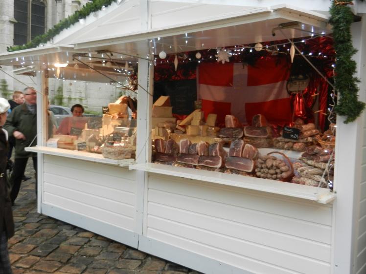 Chalet fabriqué en France Marché de Noël de Rouen