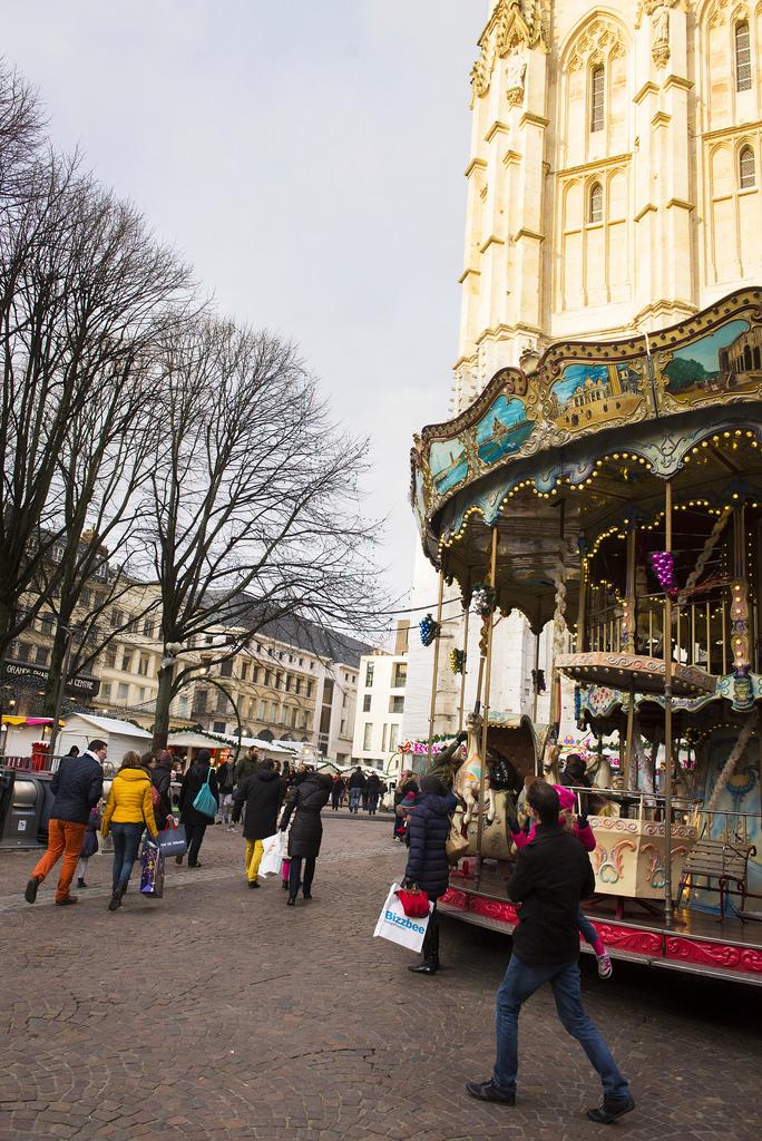 Le Carrousel du Marché de Noël de Rouen