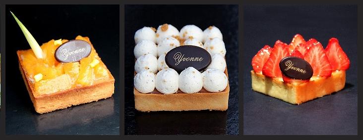 L\u0027élégante pâtisserie Yvonne vous fait partager cette année sur le Marché  de Noël de Rouen ses spécialités haut de gamme  macarons, choux, éclairs,