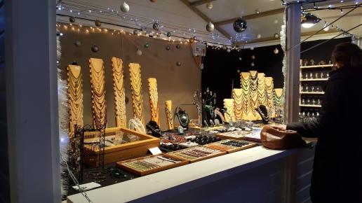 Les bijoux au Marché de Noël
