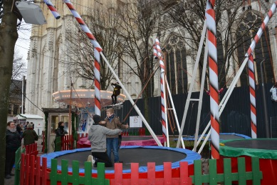 Le trampoline de Noël à Rouen !